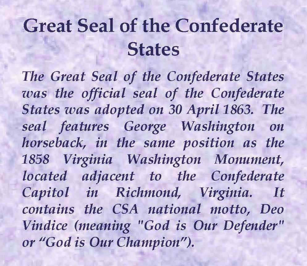 Great Seal of the Confederate States